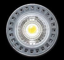 LED Spotlight - 6W GU10 СОВ Plastic 6000K Dimmable 110°