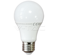 LED Bulb - 10W E27 A60 Thermoplastic 3000K