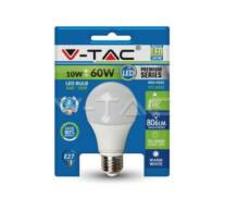 LED Bulb - 10W E27 A60 Thermoplastic 3000K Blister