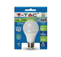 LED Bulb - 12W E27 A60 Thermoplastic 3000K Blister