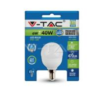 LED Bulb - 6W E14 P45 3000K Blister Pack