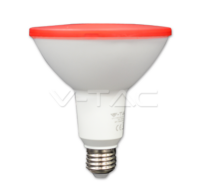LED Bulb - 15W PAR38 E27 IP65 Red – NEW