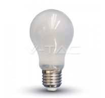LED Bulb - 6W Filament E27 A60 Frost Cover 6400K – NEW