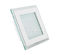 6W LED Panel Downlight Glass - Square 3000K