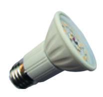 LED izzó, spot, E27, 5W, 400lm