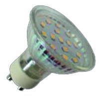 LED izzó, spot, GU10, 3W, 250lm