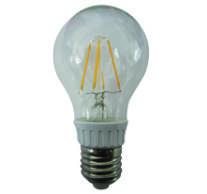 LED izzó, körte, E27, 4W