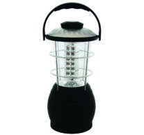LED-es kempinglámpa, dinamós