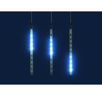 LED-es jégcsap fényfüggöny, 1,6m, IP44, 230V