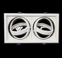 2xAR111 Fitting White