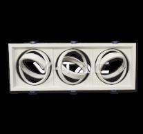 3xAR111 Fitting White