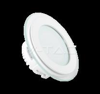 6W LED Panel Downlight Glass - Round 3000K