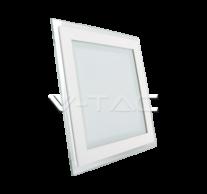 12W LED Panel Downlight Glass - Square 6000K
