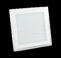 18W LED Panel Downlight Glass - Square  6000K