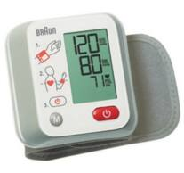 Vérnyomásmérő, csuklós, 10 memória