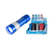 LED-es elemlámpa, alumínium, 12db/display