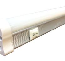 T5 fénycső 60 cm 8 watt, 850 lumen 4000 kelvin opál, toldható kapcsolóval