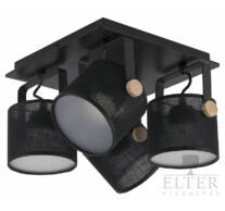 TK Lighting Relax Black LED spotlámpa