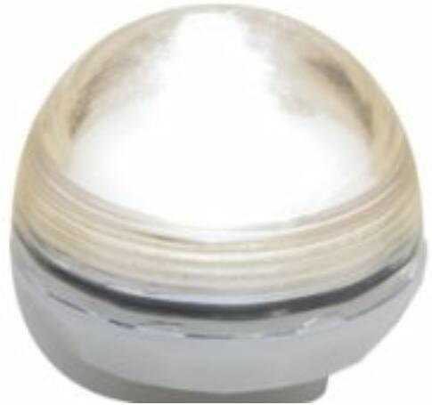 LED-es vízálló mécses set, 12 db, 1 melegfehér LED