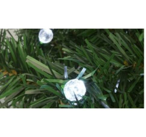 Dekoráció szett, gömb, 50 db, Ø5 mm-es LED-re