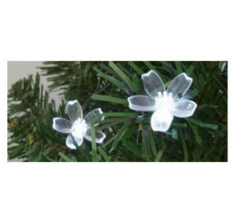 Dekoráció szett, virág, 50 db, Ø5 mm-es LED-re