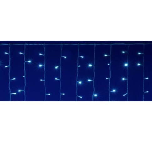 LED-es izzósor, 10 m / 200 LED, sorolható, hidegfehér