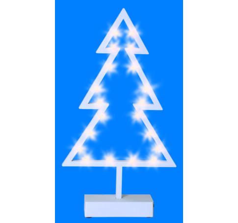 LED-es asztali dísz, karácsonyfa