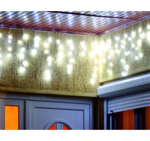 LED-es fényfüggöny, 20m, 8 prg