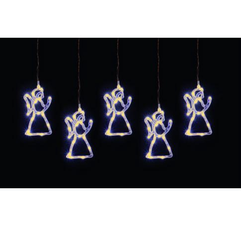 LED-es angyal fényfüzér