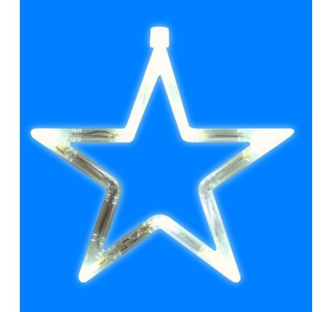 LED-es ablakdísz, csillag