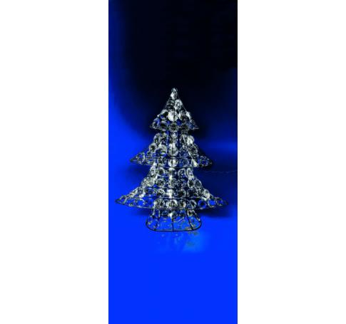 LED-es akril karácsonyfa dekoráció