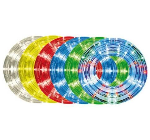 10m,13mm, 8pr., átlátszó LED vil.cső