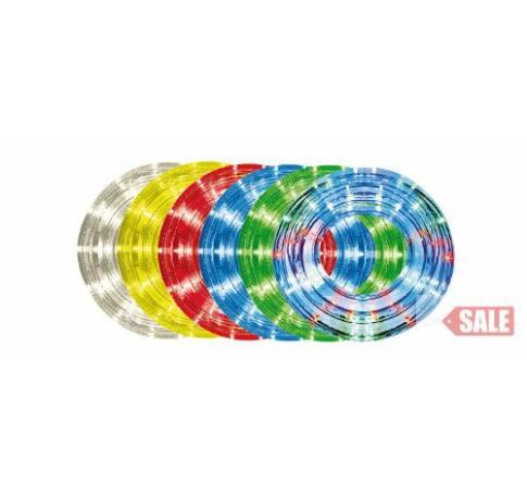 10m,13mm, 8pr., piros LED vil. cső
